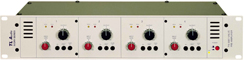 TL Audio Ivory series 5001 quad valve mic preamps